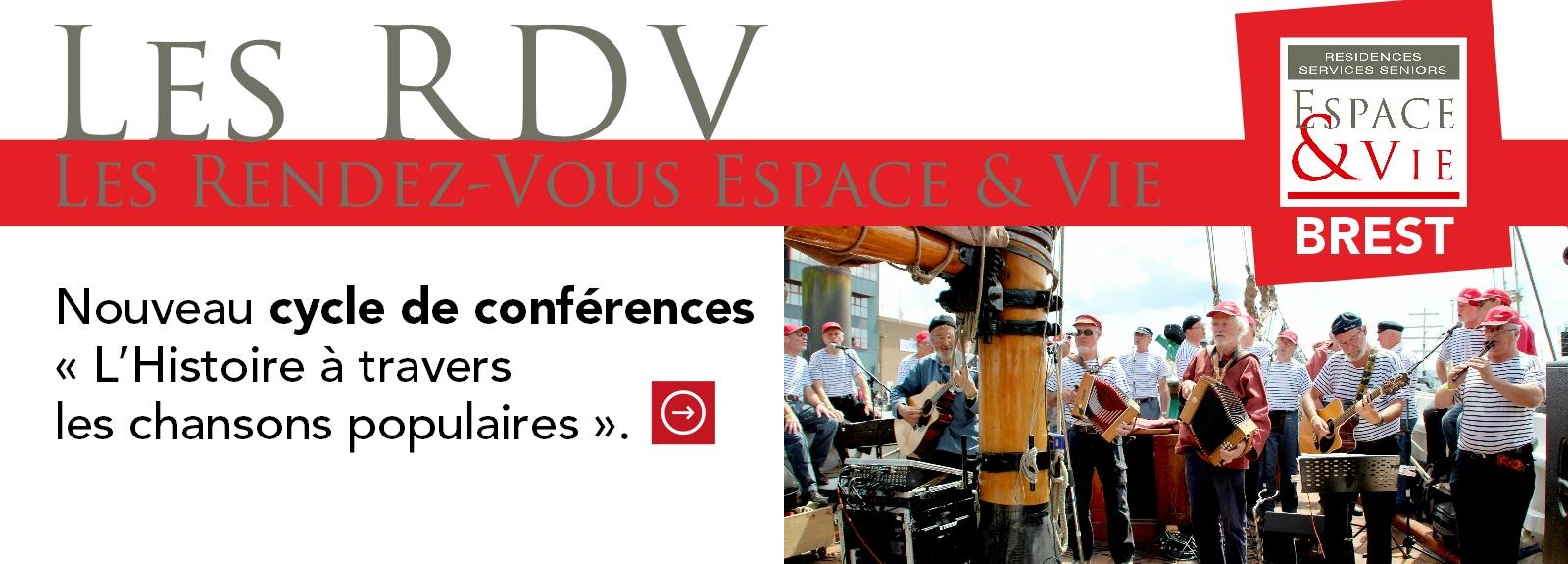 Nouveau cycle de conférences à Espace & Vie Brest