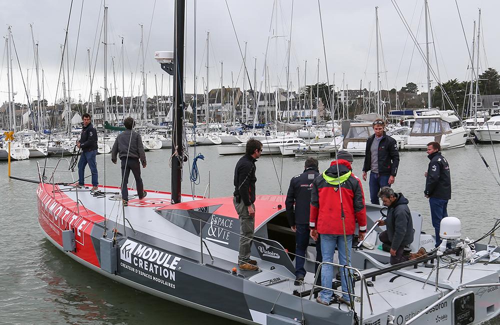 espace & vie skipper luke berry sailing class 40 route du rhum partenariat résidences services seniors