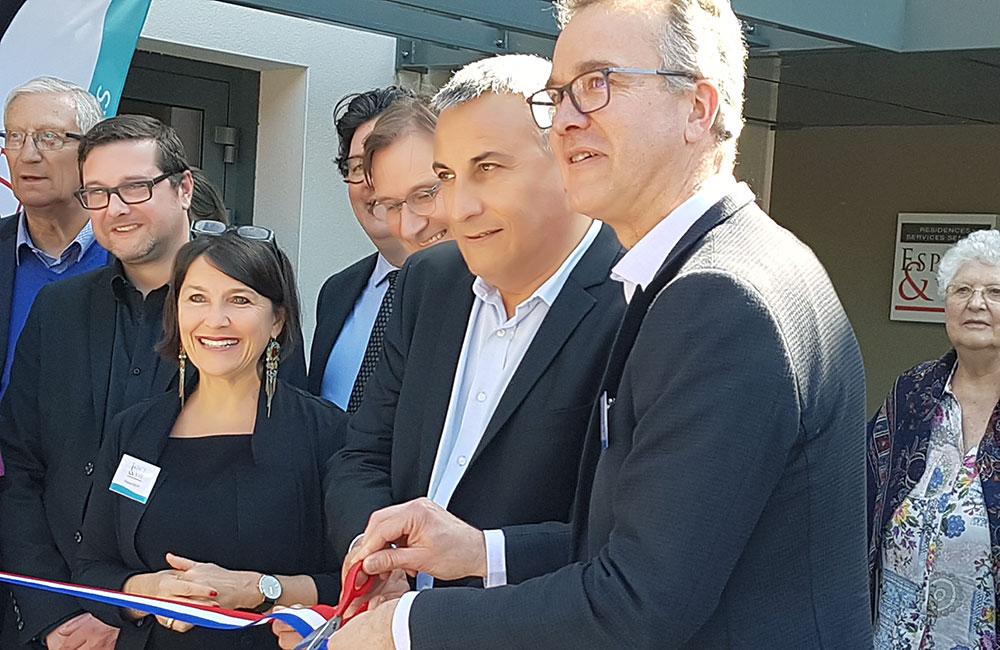 Espace & Vie a inauguré à Saint-Herblain sa neuvième résidence !