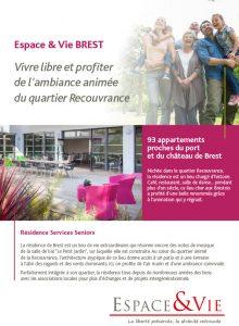 Fiche Residence services seniors BREST