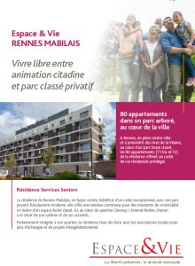Fiche Residence RENNES MABILAIS