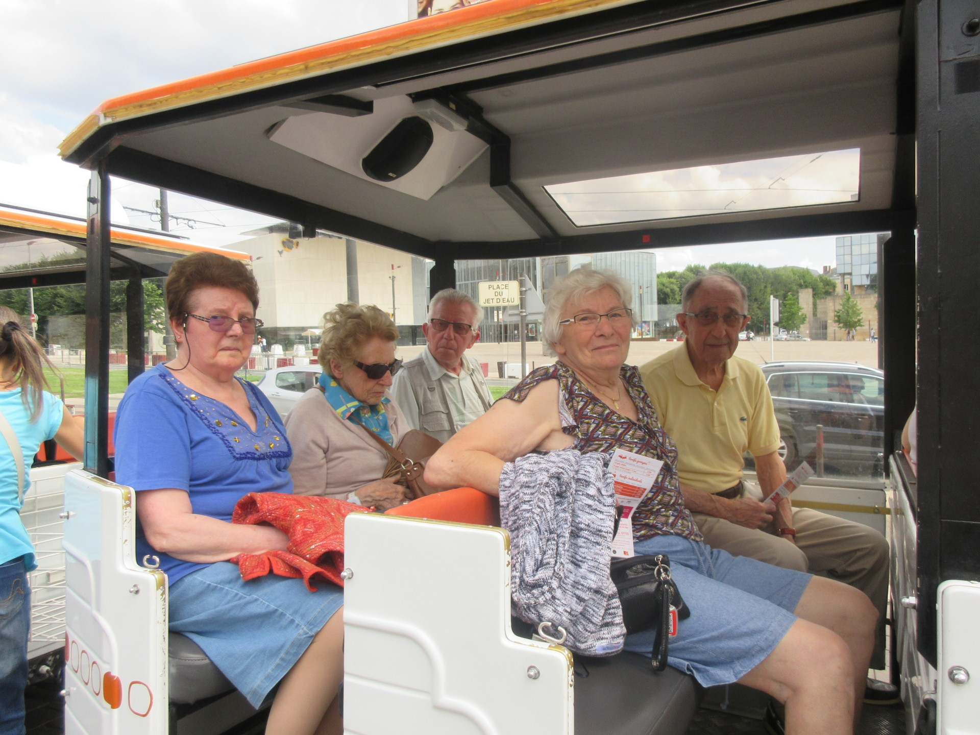 Nos seniors visitent le Mans