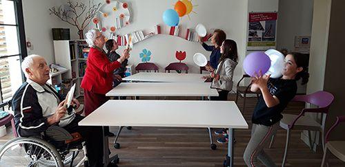 activite intergenerationnelle espace et vie