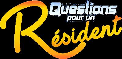 question pour 1 resident logo