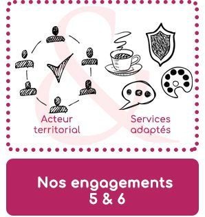 engagements 5 et 6 bouton