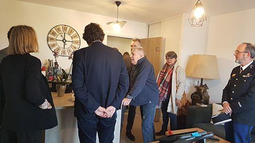Inauguration de libourne appartement personnes agee