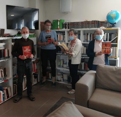 Bibliothèque en résidence services seniors