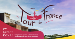 le Défi Tour de France des résidences Espace & Vie